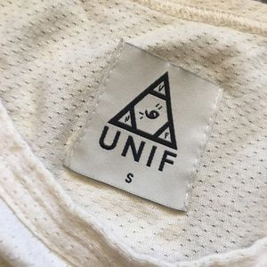 UNIF Tops - UNIF Cropped Mesh Jersey